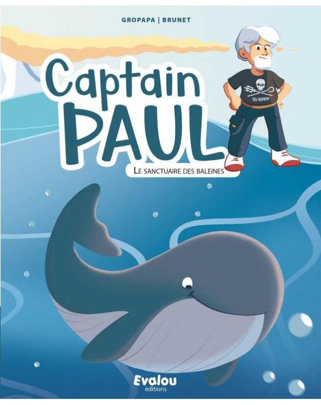 captain paul et le sanctuaire des baleines