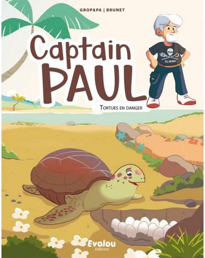 captain paul : tortues en danger