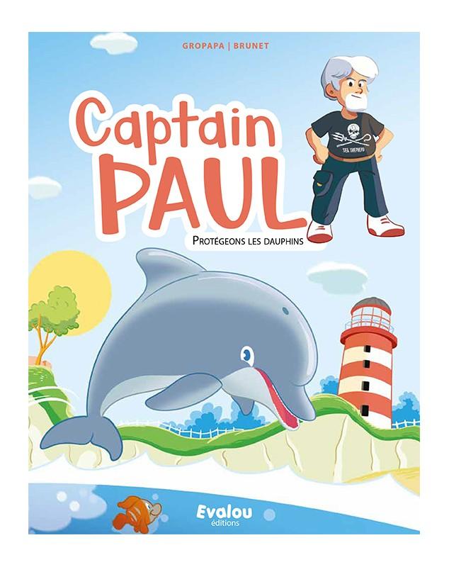 couverture captain paul et le sanctuaire des baleines